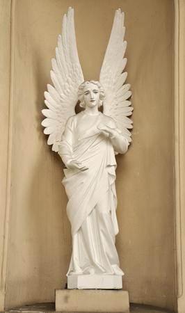 Angel in Divina Providencia Church, 1896 app, Santiago, Chile.
