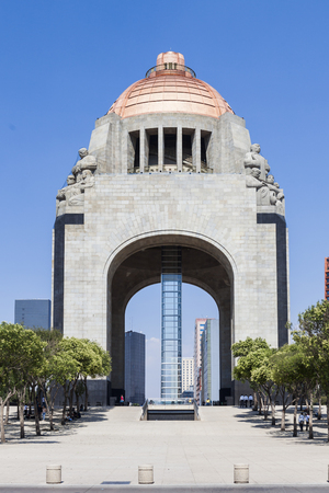 Monument to the Mexican Revolution (Monumento a la Mexicana Revolucion). Редакционное