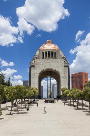 Monument to the Mexican Revolution (Monumento a la Mexicana Revolución). Фото со стока - 77721305