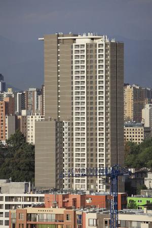 New apartment building in Santiago, Chile