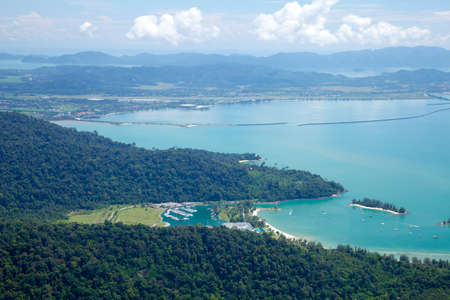 langkawi island: Langkawi Island landscape, Malaysia Stock Photo