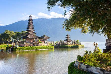 bratan: Pura Ulun Danu Bratan. Bedugul, Bali, Indonesia. Stock Photo