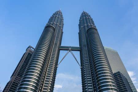 petronas: Petronas Twin Towers. Kuala Lumpur, Malaysia. Editorial
