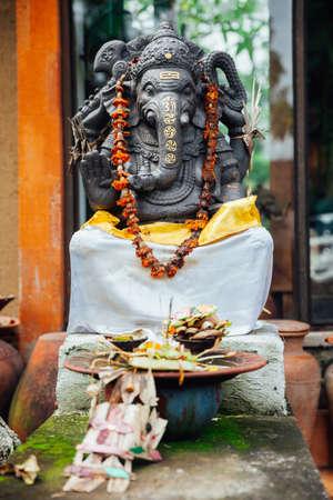 ubud: Balinese Ganesha. Ubud, Bali, Indonesia. Stock Photo