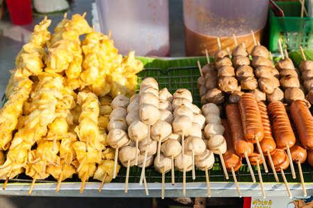Thai street food. Chiang Mai, Thailand.