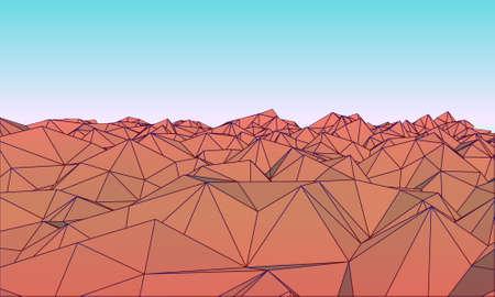 polly: Low polly Mountains