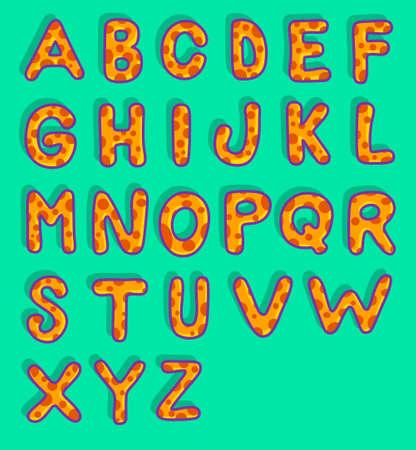 d a r e: Mushroom Alphabet