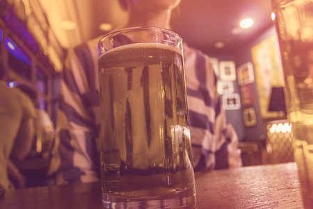 Bear in bar