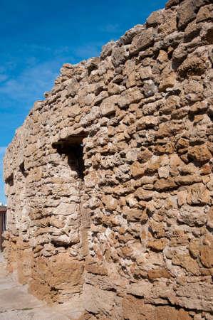 Wall Roman amphitheater