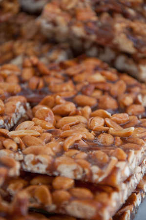 Candied pine nuts Stock Photo