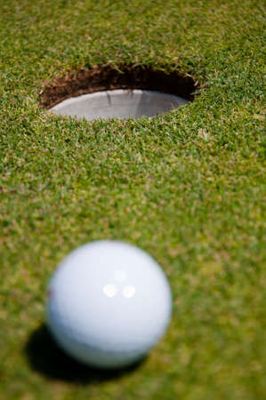 golf hole with ball Stock Photo - 7493350