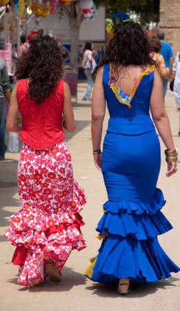 Gypsy woman dress