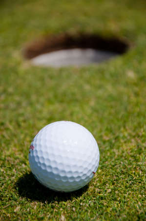 golf hole with ball Stock Photo - 7515881