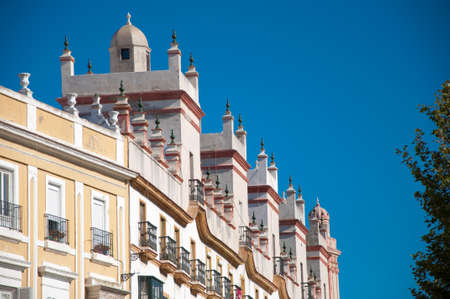 Home of the five towers, Spain square, Cadiz