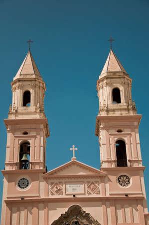Church of San Antonio, C�diz Stock Photo
