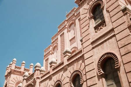 Great Theatre Falla of C�diz, rear facade Stock Photo