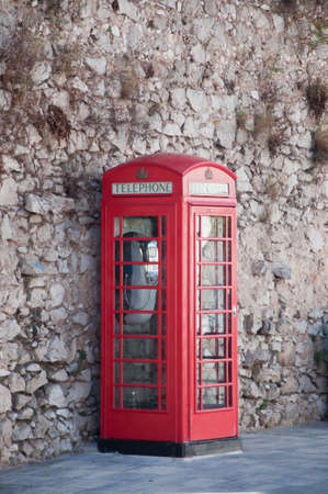 phonebooth: English phone booth Stock Photo