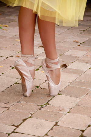 ballet toe shoes