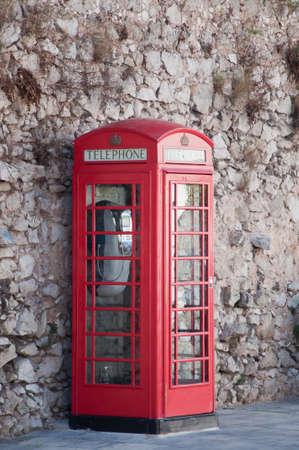 English phone booth photo