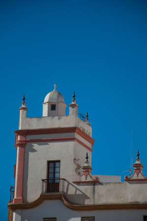 Home of the five towers, Spain square, Cadiz Stock Photo - 13047556