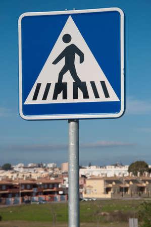 traffic signal, crosswalk, zebra crossing Stock Photo
