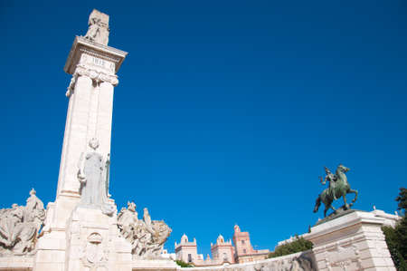 promulgated: Commemoration of the first Spanish constitution, promulgated in Cadiz