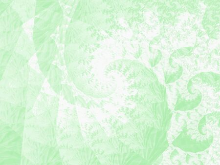 foggy: psychedelic green background, graphics image at high definition Stock Photo