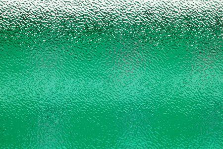 carton ondulé et translucide verre de fenêtre - vert coloré