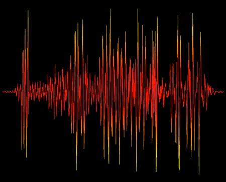 oscilloscope: diagramma di prova elettronica, oscilloscopio display grafico, grafico di onda sonora  Archivio Fotografico