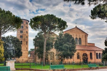 ravenna: antique italian cathedral, the basilica of Sant