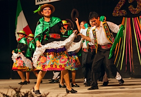south american ethnicity: ensemble Im?nes del Peru Editorial