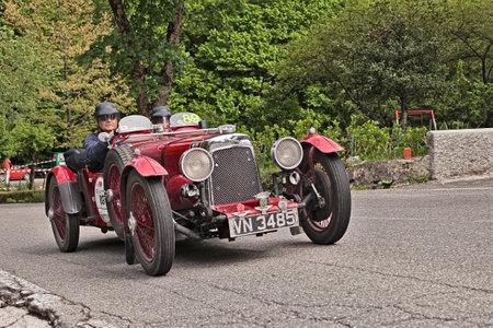 Vintage Sports Car Aston Martin International Le Mans Stock - Aston martin vintage