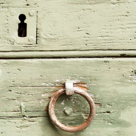 mediaval: detail of an old door and mediaval