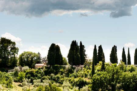 lazio: View of Monteleone Sabino in the Lazio