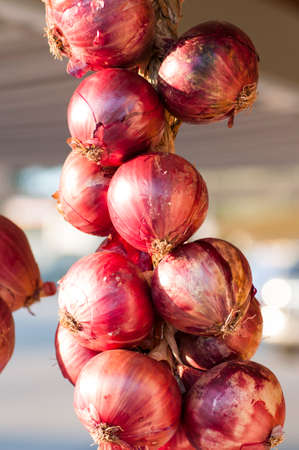 red onions: red onions