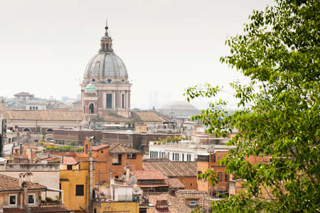 attics: view of Rome from above