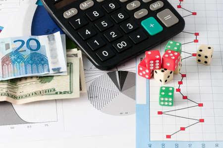 Bourse Gamble Banque d'images - 44121313
