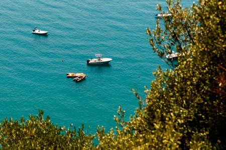 lucania: Panoramic view of the sea in Maratea.Italy Stock Photo