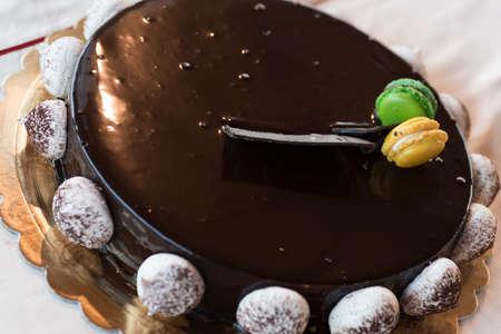 very good: very good chocolate pie