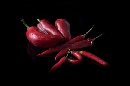 chillies: red chillies spicy Calabrian