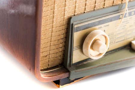 seconda guerra mondiale: antica della radio del 1940, utilizzato durante la Seconda Guerra Mondiale
