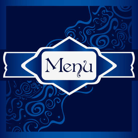 Menu Card Stock Vector - 13423676