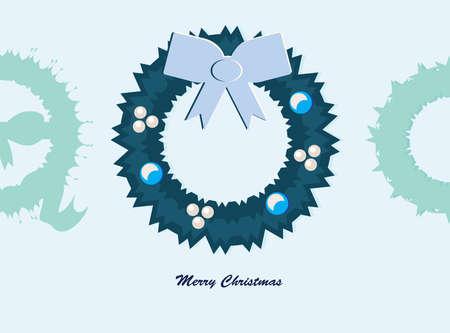 Christmas wreath Stock Vector - 16807289