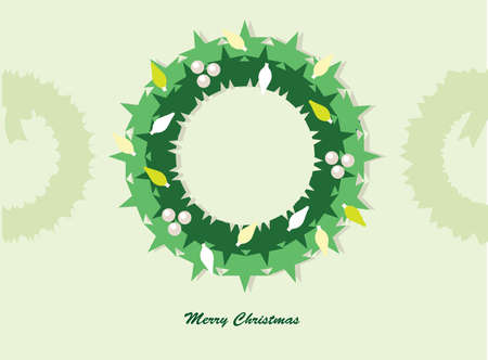 Christmas wreath Stock Vector - 16807353
