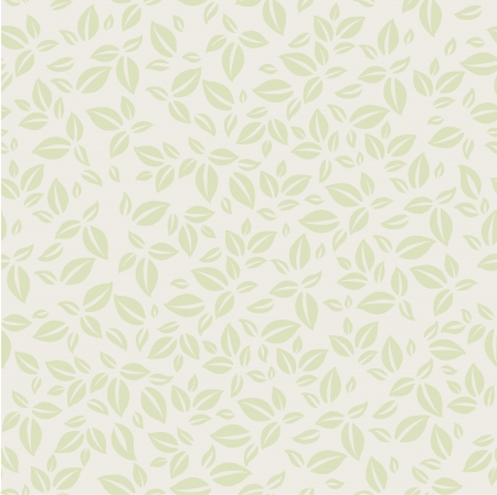 Vintage background pattern with leaves