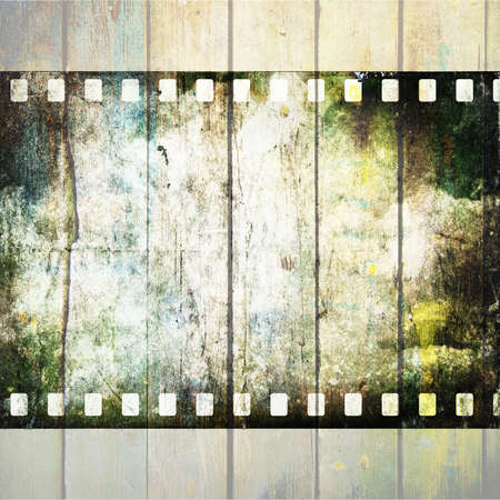 Vintage background with film Stock Photo - 18965216