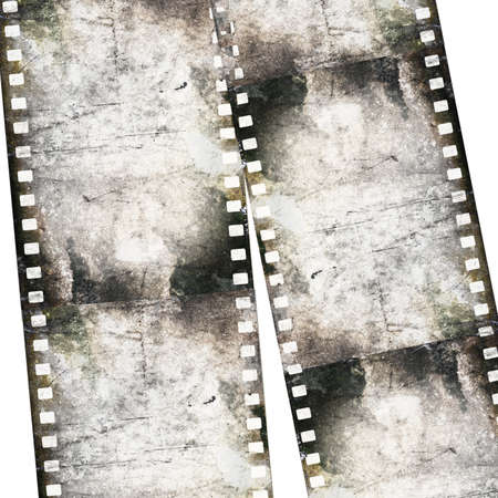 Vintage background with film Stock Photo - 18965215