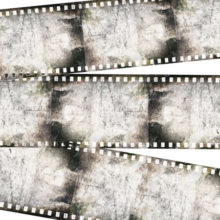 Vintage background with film Stock Photo - 18965220