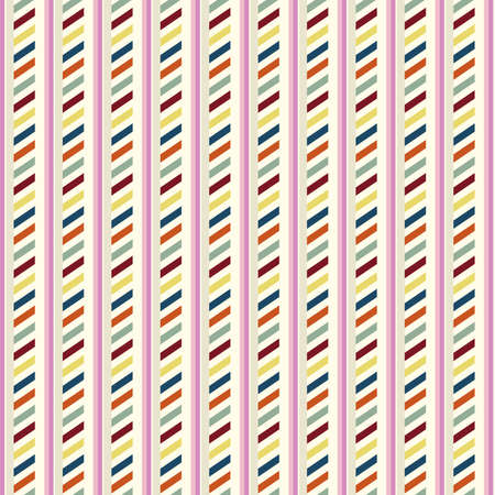 Vintage pattern with strips
