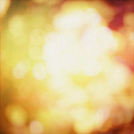 Abstracte herfst achtergrond met bokeh Kleurrijke banner achtergrond met plaats voor uw tekst